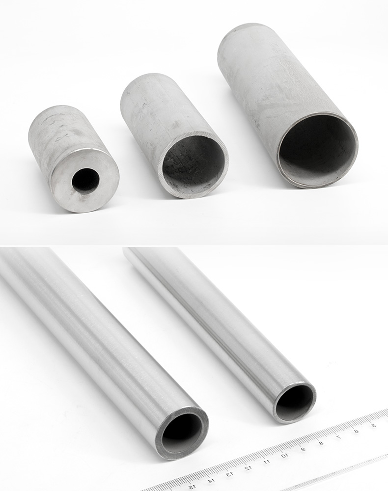 Stainless steel capillary 304 hollow tube thick round tube 316L seamless steel pipe 310s heat-resistant stainless steel tube