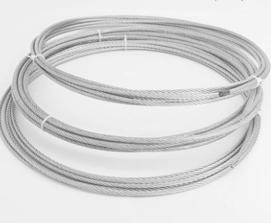 304 stainless steel plastic coated steel wire rope